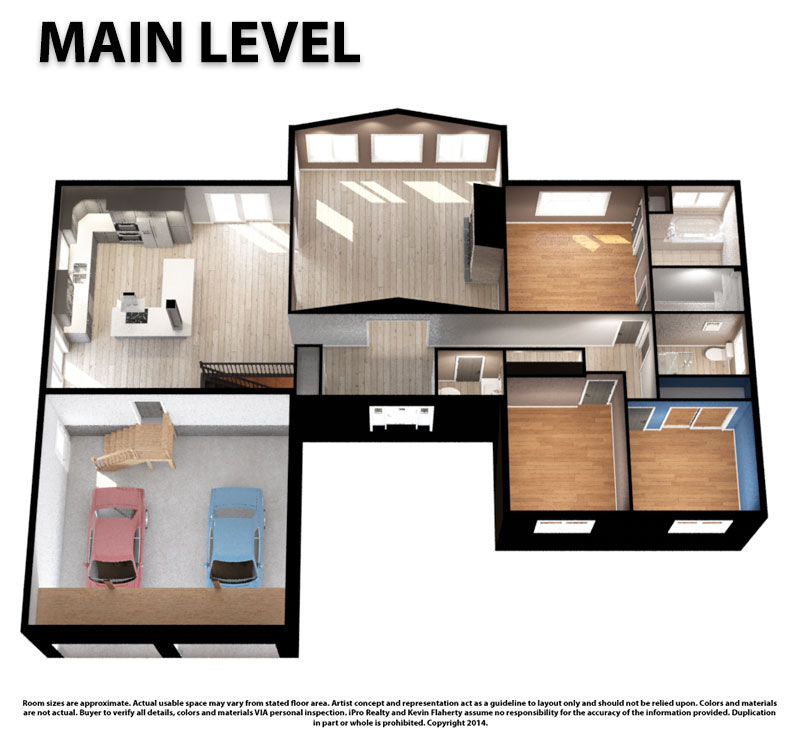 Main 3D Still - Kevin Flaherty Real Estate Listing