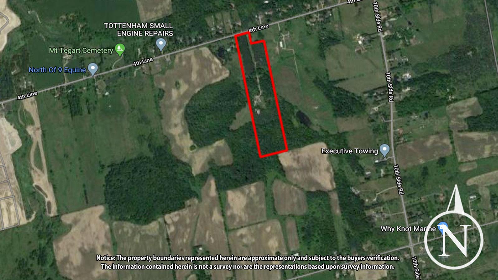 Kevin Flaherty Real Estate Listing - Aerial Map