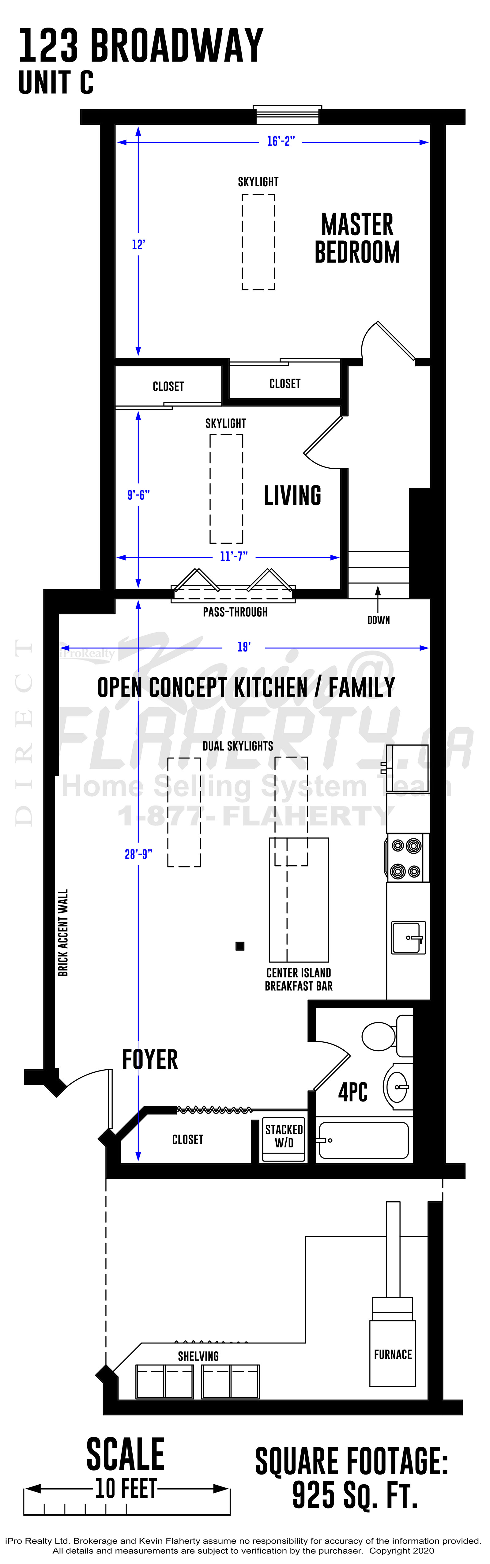 Kevin Flaherty Real Estate Listing - Floorplans