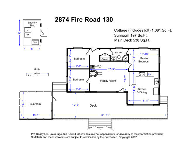 2874 fire route 130 galway cavendish harvey ontario for Bunkie floor plans