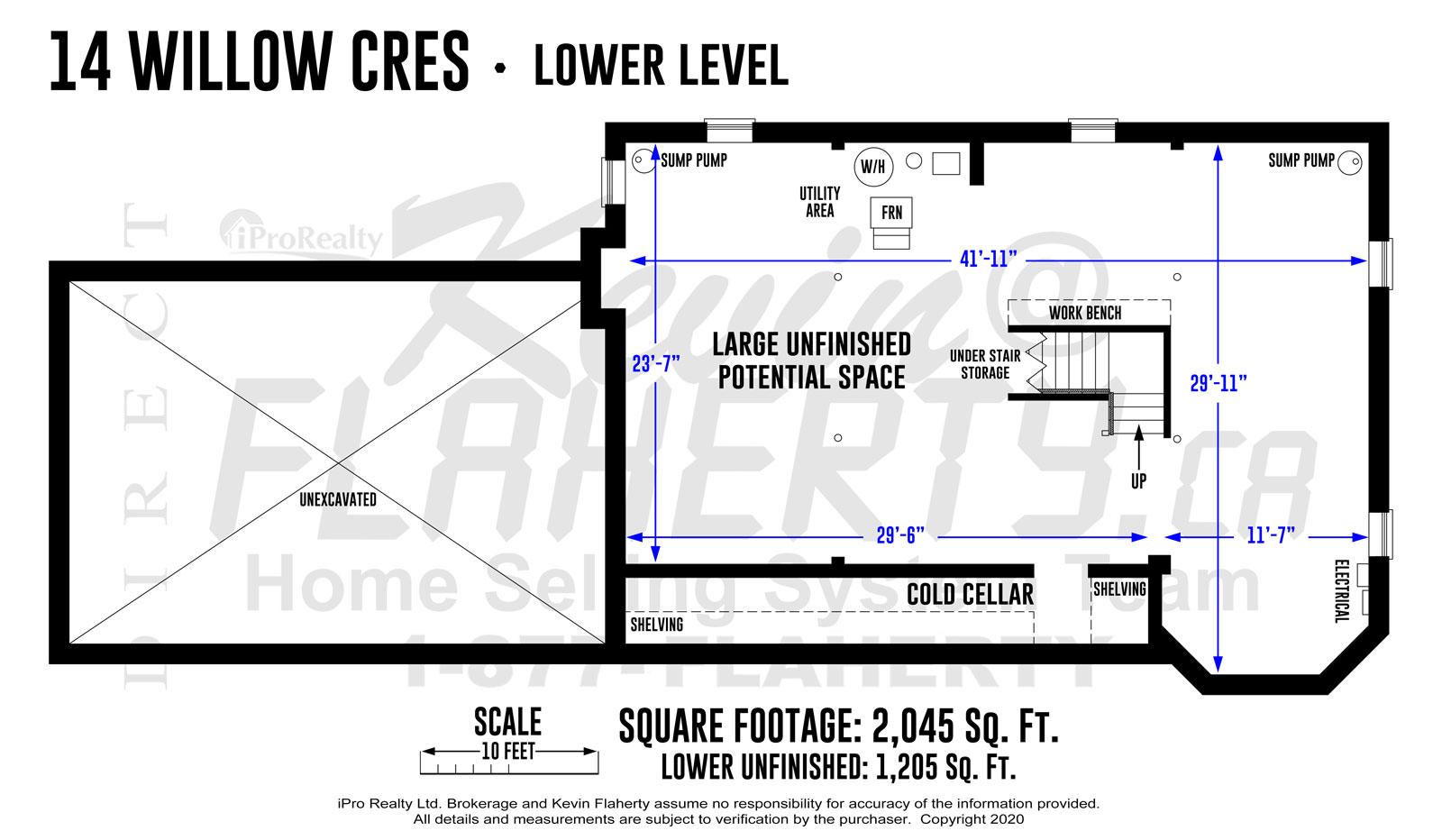 Kevin Flaherty Real Estate Listing - Floorplans