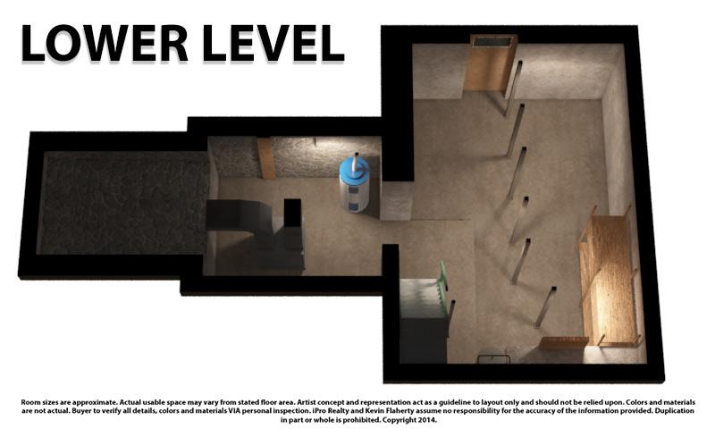Lower 3D Still - Kevin Flaherty Real Estate Listing
