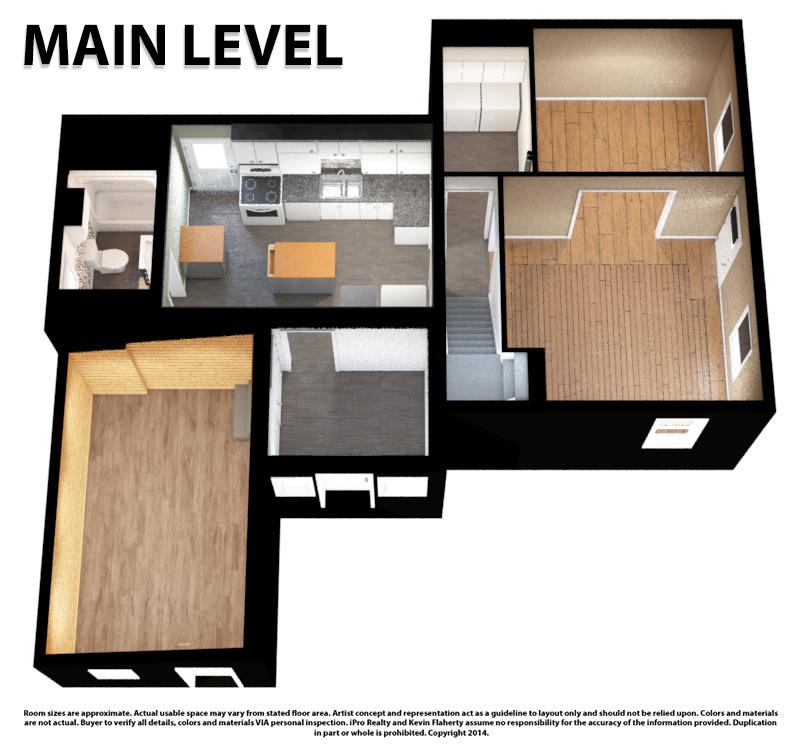 Main 3D Still - Kevin Flaherty Real Estate Listing