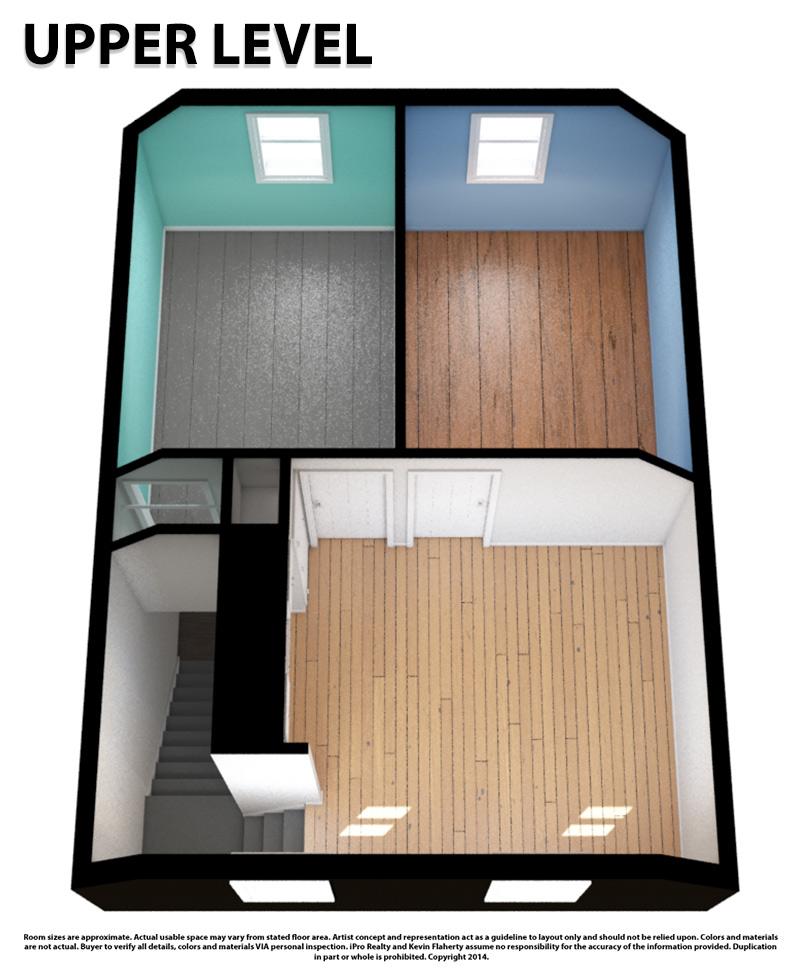 Upper 3D Still - Kevin Flaherty Real Estate Listing