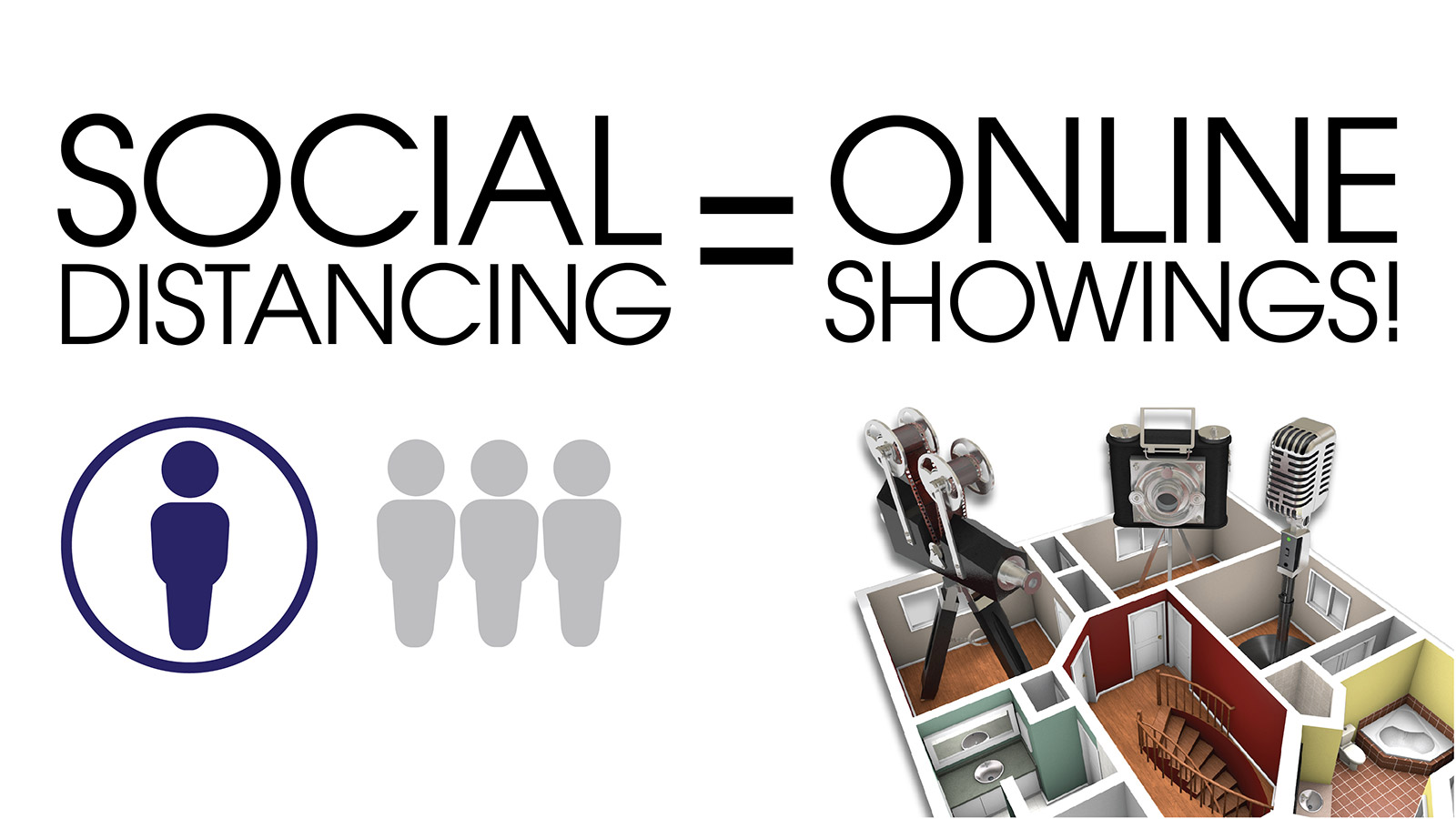 Social Distancing = Online Showings!